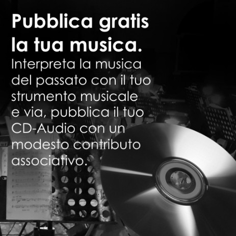 La tua musica in un CD Audio